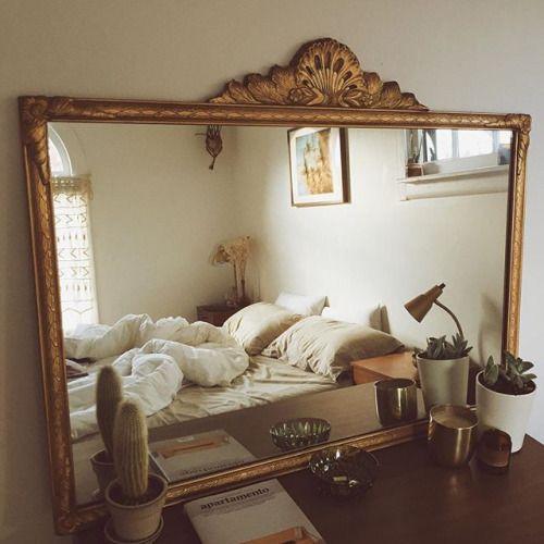 espejos que amplían ambientes por Hogara